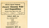 Jasper County Fair and Exposition Program